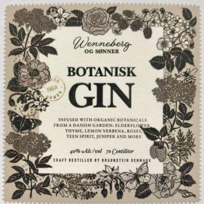 Elderflower Botanisk Gin